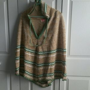 Vintage B&B Sweater Mills Sweater Poncho